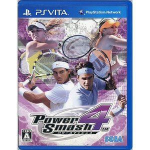 【商品名:】【中古】パワースマッシュ 4 PS Vita / 【商品状態:】開封済みの中古品です。☆...