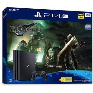 【中古】SONY プレイステーション4 Pro 1TB FINAL FANTASY VII REMAKE Pack CUHJ-10036 未使用|excellar-plus