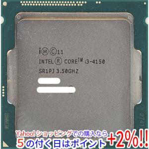 キャッシュレスで5%還元   Core i3 4150 3.5GHz 3M LGA1150 54W SR1PJ