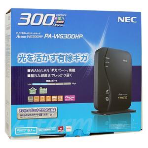 【商品名:】【中古】NEC製 無線LANルーター PA-WG300HP 元箱あり / 【商品状態:】...