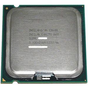 【中古】【ゆうパケット発送】Core 2 Duo E8600 3.33GHz FSB1333MHz ...