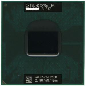 Core 2 Duo モバイル T9600★2.80GHz FSB1066MHz★SLB47★【ゆうパケット対応】