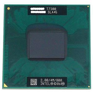 【中古】【ゆうパケット発送】Core 2 Duo モバイル T7300 2.0GHz FSB800M...