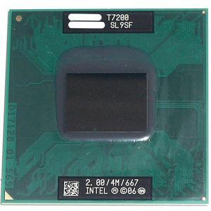 【中古】【ゆうパケット発送】Core 2 Duo モバイル T7200 2.0GHz FSB667M...