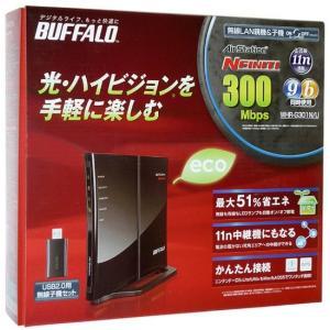 【商品名:】【中古】BUFFALO バッファロー 無線LAN BBルータ&USB2.0用子機 WHR...