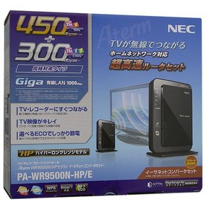 【商品名:】【中古】NEC製 イーサネットコンバータセット PA-WR9500N-HP/E 元箱あり...