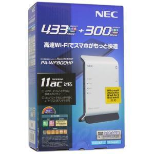 【商品名:】【中古】NEC製 Wi-Fiホームルータ PA-WF800HP 元箱あり / 【商品状態...