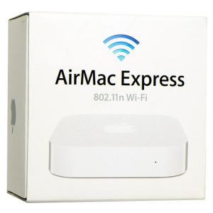 【商品名:】【中古】Apple AirMac Express ベースステーション MC414J/A(...