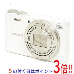 【商品名:】【中古】SONY製 Cyber-shot DSC-WX300 ホワイト/1820万画素 ...