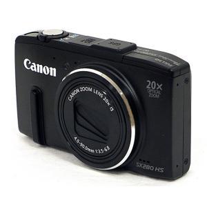 【商品名:】【中古】Canon製 PowerShot SX280 HS ブラック 1210万画素 /...