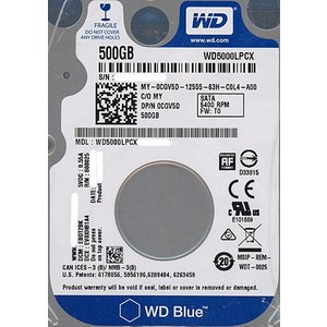 Western Digital製HDD WD5000LPCX 500GB SATA600|excellar