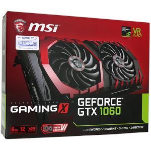 MSI製グラボ GTX 1060 GAMING X 6G PCIExp 6GB|excellar