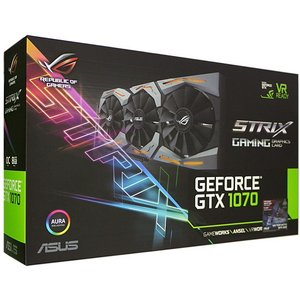ASUS製グラボ ROG STRIX-GTX1070-O8G-GAMING|excellar