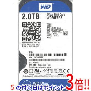 Western Digital製HDD WD20EZRZ 2TB SATA600|excellar