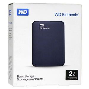 WesternDigital製■外付HD WDBU6Y0020BBK-EESN■2.0TB■未開封