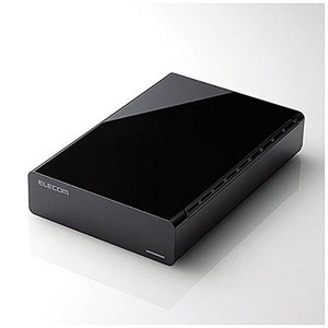 ELECOM エレコム 外付ハードディスク ELD-ERT020UBK 2TB|excellar