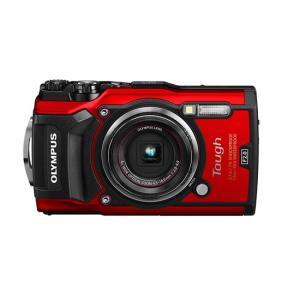OLYMPUS 防水デジタルカメラ Tough TG-5 レッド 1200万画素|excellar