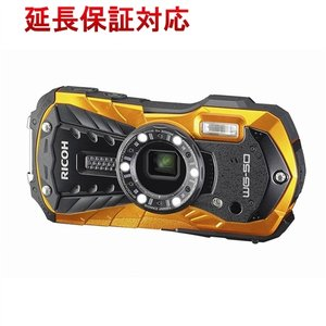 【商品名:】RICOH製 防水デジタルカメラ WG-50 オレンジ/1600万画素 / 【商品状態:...