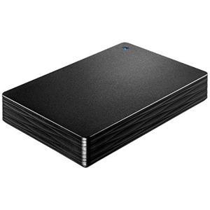I-O DATA アイ・オー・データ製PortableHD HDPH-UT2DK 2TB ブラック|excellar