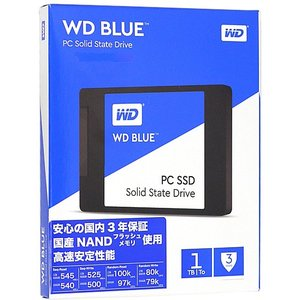 Western Digital製 2.5inch SSD WD Blue WDS100T1B0A|excellar
