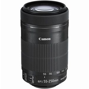 Canon★EF-S55-250mm F4-5.6 IS STM★ワケあり●新品◆|excellar