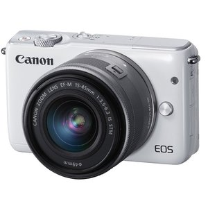 EOS M10 EF-M15-45 IS STM レンズキット★ホワイト★訳あり●新品|excellar