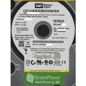 Western Digital製HDD WD10EACS 1TB SATA300|excellar