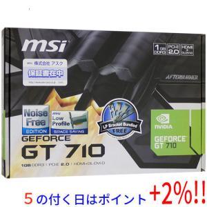 MSI製グラボ GT 710 1GD3H LP PCIExp 1GB|excellar