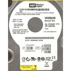 Western Digital製HDD WD5000AAKB 500G U100 7200|excellar