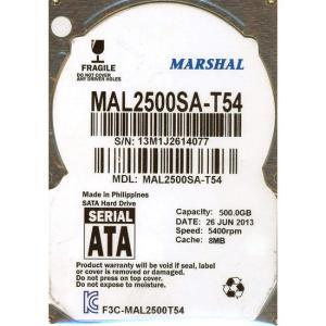 MARSHAL製 2.5inch HDD MAL2500SA-T54 500GB|excellar