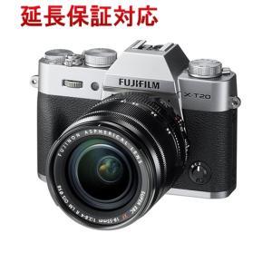 【商品名:】FUJIFILM デジタル一眼 FUJIFILM X-T20 レンズキット シルバー /...