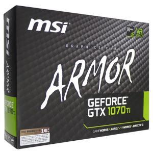 MSI製グラボ GTX 1070 Ti ARMOR 8G PCIExp 8GB|excellar