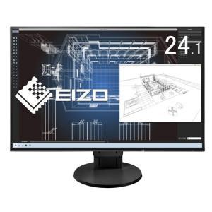 【商品名:】ナナオ製 24.1インチ ディスプレイモニター FlexScan EV2456-RBK ...