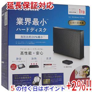 I-O DATA アイ・オー・データ製外付HD HDCZ-UT1KB ブラック 1.0TB USB 3.1 1TB|excellar