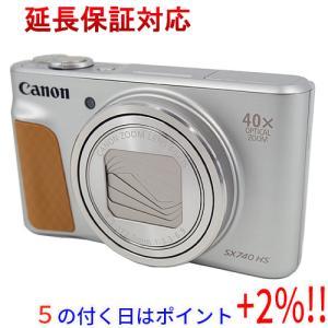 Canon製 PowerShot SX740 HS シルバー 2030万画素|excellar