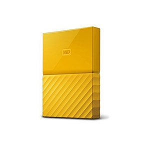 【キャッシュレスで5%還元】WesternDigital製 ポータブルHD My Passport WDBYNN0010BYL-JESN イエロー 1TB|excellar