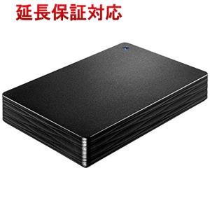 I-O DATA アイ・オー・データ製PortableHD HDPH-UT4DK 4TB ブラック|excellar