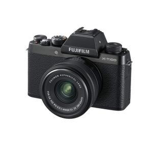 【商品名:】【新品訳あり(欠品あり)】 FUJIFILM ミラーレス一眼 X-T100 レンズキット...