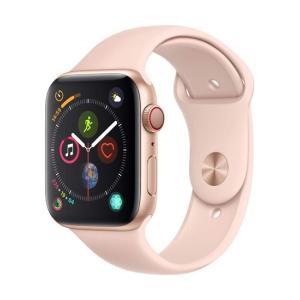 APPLE Apple Watch Series 4 GPS+Cellularモデル 44mm MTVW2J/A ピンクサンドスポーツバンド excellar