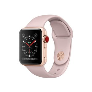 APPLE Apple Watch Series 3 GPS+Cellularモデル 38mm MQKH2J/A ピンクサンドスポーツバンド|excellar