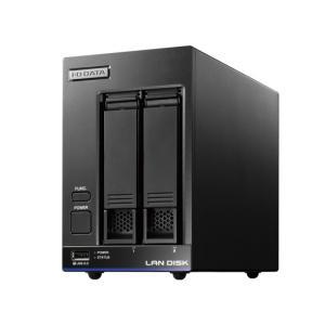 I-O DATA アイ・オー・データ製NAS 2ドライブ LAN DISK X HDL2-X2 2TB|excellar