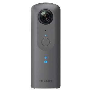 【新品訳あり(箱きず・やぶれ)】 RICOH製 全天球カメラ THETA V|excellar