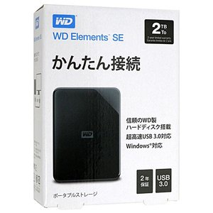 WesternDigital製 外付HD WD Elements SE Portable WDBEP...