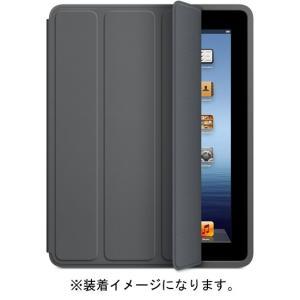 【キャッシュレスで5%還元】【新品(開封のみ)】 APPLE iPad Smart Cover ダークグレー MD306FE/A|excellar