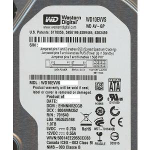 【キャッシュレスで5%還元】Western Digital製HDD WD10EVVS 1TB SATA600|excellar