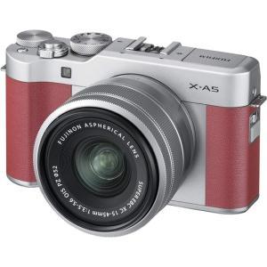 FUJIFILM製 ミラーレス一眼カメラ X-A5 レンズキット X-A5LK-P ピンク【キャッシ...