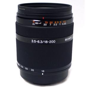 【中古】SONY ズームレンズ DT 18-200mm F3.5-6.3 SAL18200|excellar