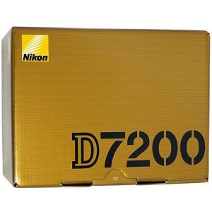 【商品名:】【中古】Nikon デジタル一眼レフ D7200 ボディ 元箱あり / 【商品状態:】動...