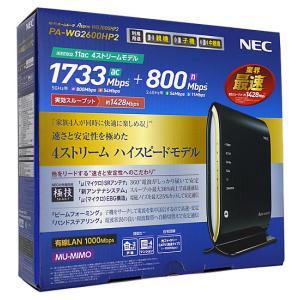 【商品名:】【中古】NEC製 無線LANルーター PA-WG2600HP2 元箱あり / 【商品状態...