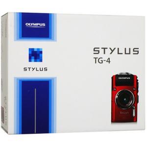 【キャッシュレスで5%還元】【中古】OLYMPUS STYLUS TG-4 Tough レッド 16...